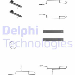 Sada príslużenstva oblożenia kotúčovej brzdy DELPHI