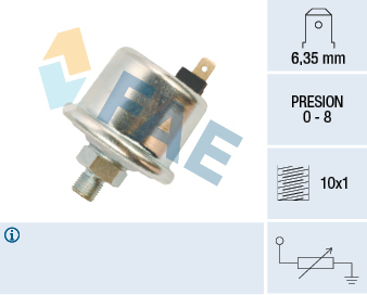 Snímač tlaku oleja FAE