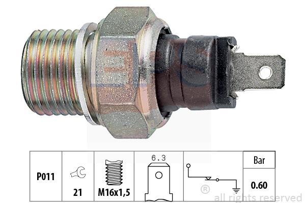 Olejový tlakový spínač EPS