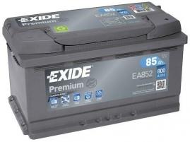 Exide Premium 12V 85Ah 800A EA852
