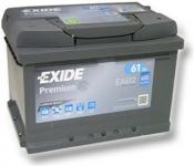 Exide Premium 12V 61Ah 600A EA612
