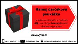 Darčeková poukážka v hodnote 40€