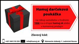 Darčeková poukážka v hodnote 100€